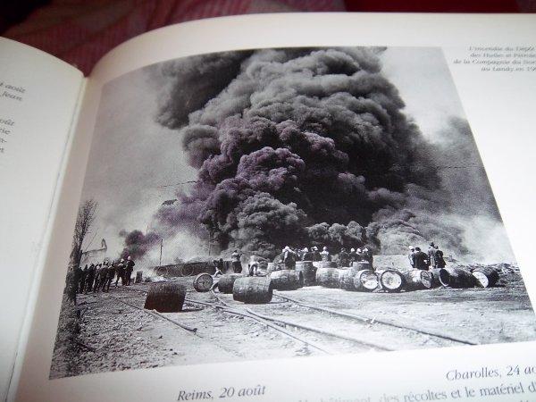 LES INCENDIES DU MOIS D'AOÛT 1913
