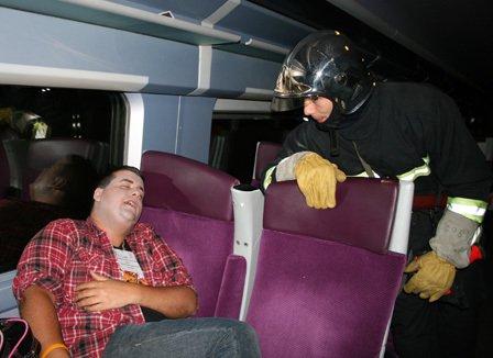 SIMULATION DE DERAILLEMENT TGV