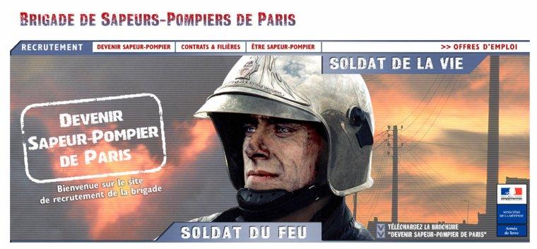 S'ENGAGER AUJOURD'HUI A LA BRIGADE DES SAPEURS-POMPIERS DE PARIS