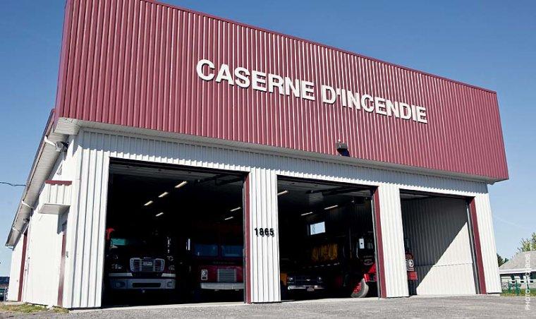 CASERNE DE POMPIERS DE SAINT-MAURICE ( QUEBEC )