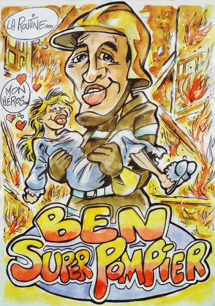 BEN , SUPER POMPIER