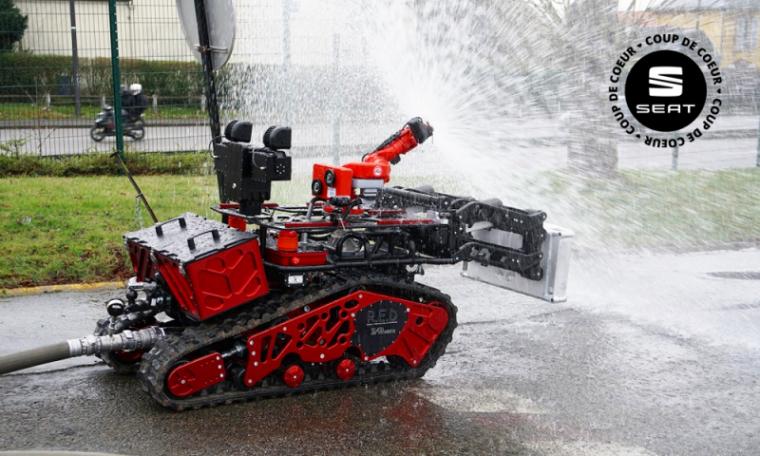 COLOSSUS : LE ROBOT-POMPIER