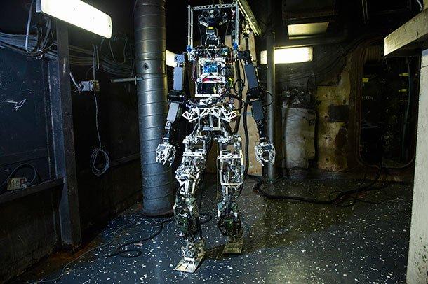 SAFFIR , LE POMPIER ROBOT AMERICAIN
