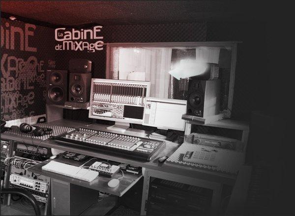 La cabine de Mixage avec un grand M