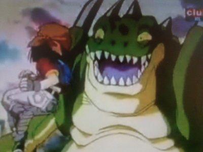 le combat du 1 er dragon