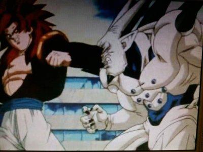 le combat de la fusion vs le 7 eme dragon