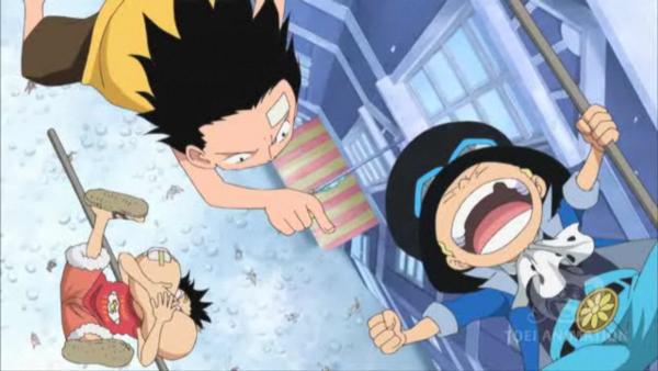 Chapitre 4 : Luffy reçoit une lettre