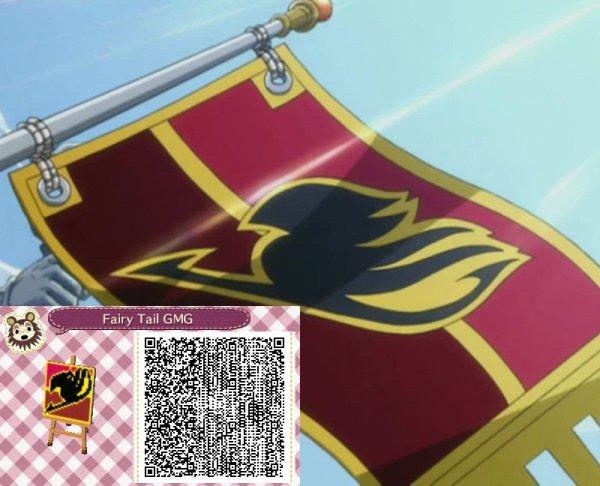 Qr code drapeau fairy tail !