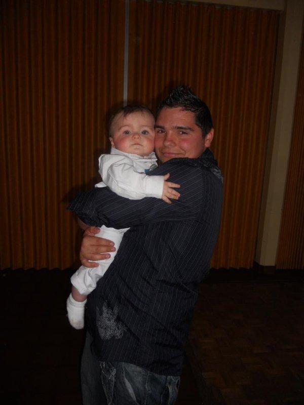 moi et mon petite couz
