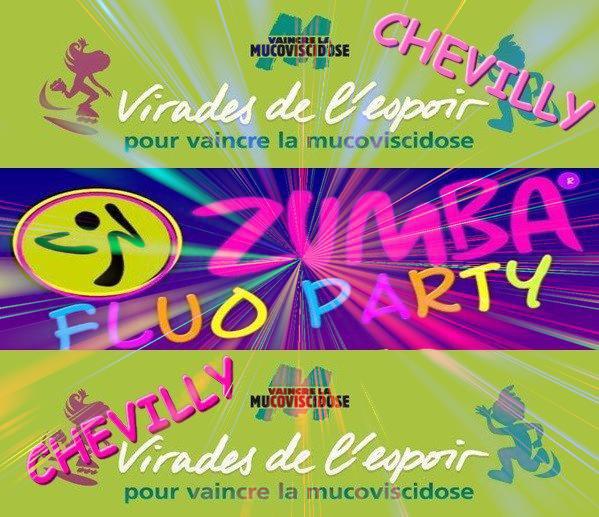 Zumba/sh'bam party fluo GEANTE!!!!!!!!!!!!!!!!