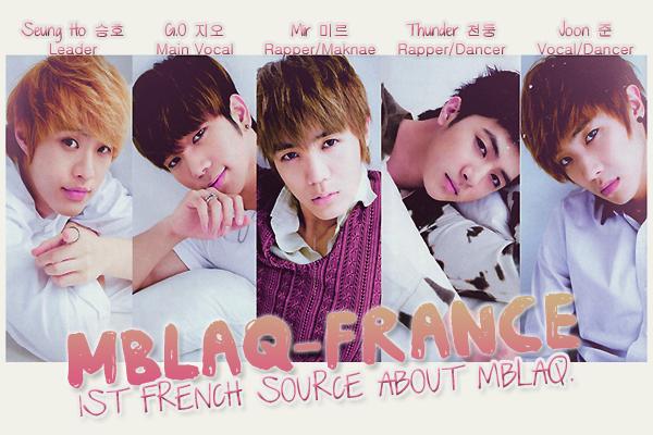 * MBLAQ-FRANCE; ta première et unique source française sur MBLAQ *  others; NaeSalang & HelloKorea ~ Deviens fan ~ Follow me on Twitter  *