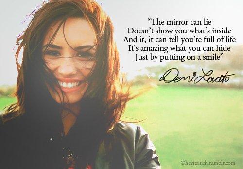 Citation Demi Lovato - Numéro 1