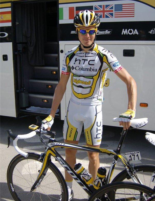 """TOUR D'ITALIE :  Lars Bak """"à 100% pour Cavendish""""   (article de cyclism'actu)"""