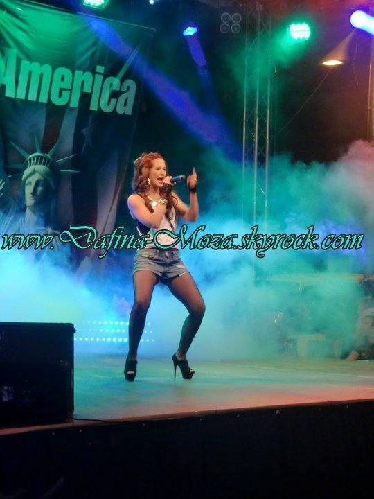 Dafina Zeqiri - Koncerti Hello America - 04.07.10