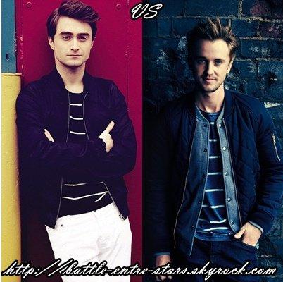 Daniel Radcliffe ou Tom Felton ?