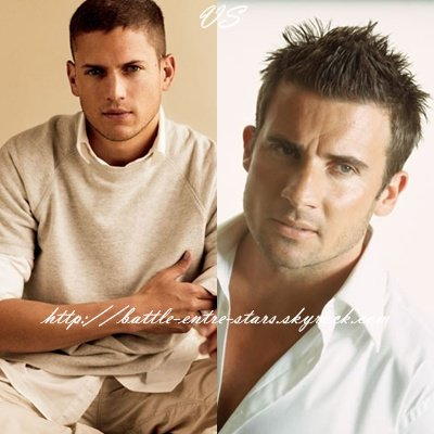 Wentworth Miller ou Dominic Purcell ?