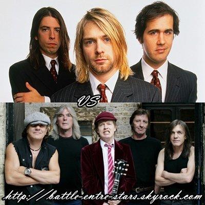 Nirvana ou AC/DC ?