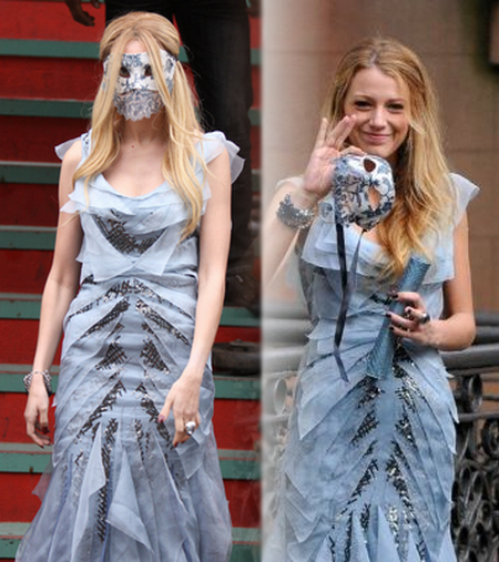 Jenny et Serena, la même robe?