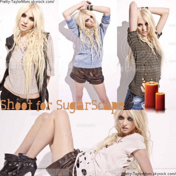 """De nouvelles images du shoot de Taylor pour """"SugarScape"""" viennent d'apparaitre."""
