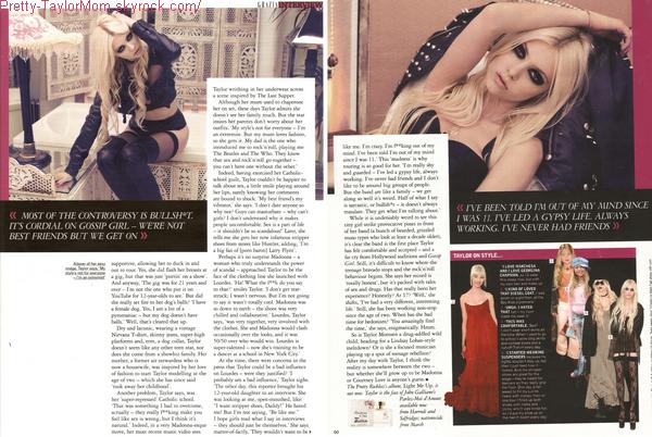 """Taylor sera dans le magazine """"Grazia"""" au Royaume Uni dans l'issue de Février. Taylor est vraiment magnifique; elle est très jolie sur ce shoot."""