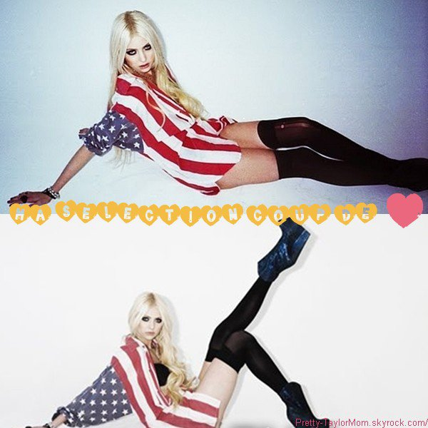 """De nouvelles photos du shoot de Taylor pour le magazine """"Nylon"""", voir plus bas."""