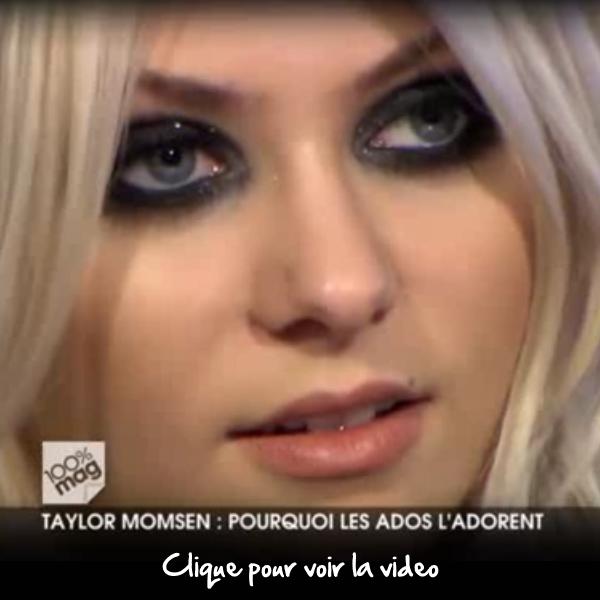 Mercredi dernier (le 20 avril) un reportage a été consacré à Taylor sur M6 dans l'émission 100% Mag. Je vous fait part de ce reportage, voir ci dessous. C'est un reportage à voir, je le trouve très bien fait.