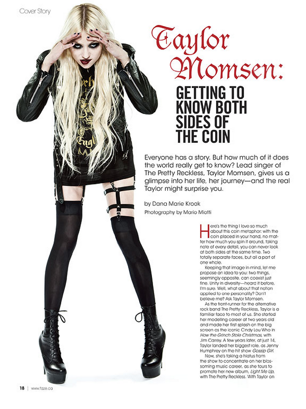 Nouvelles photos de Taylor pour le magazine 'Faze' issue Été.