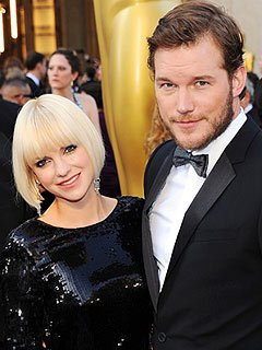 Anna Faris and Chris Pratt Enceinte de son premier enfant