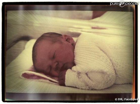 Voici Lorie bebe