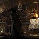 Bureau et réserve du professeur de potion