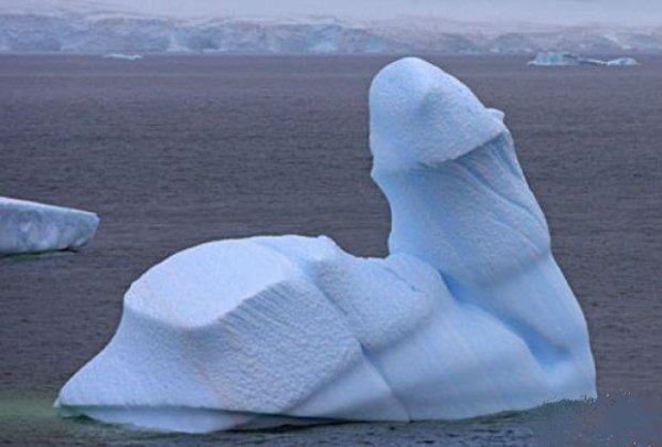 On a retrouvé l'ICEBERG qui a niqué le TITANIC