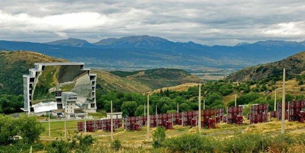 MON FILS ET MA BELLE FILLE EN VACANCE UNE SEMAINE A FONT ROMEU 1700 m altitude