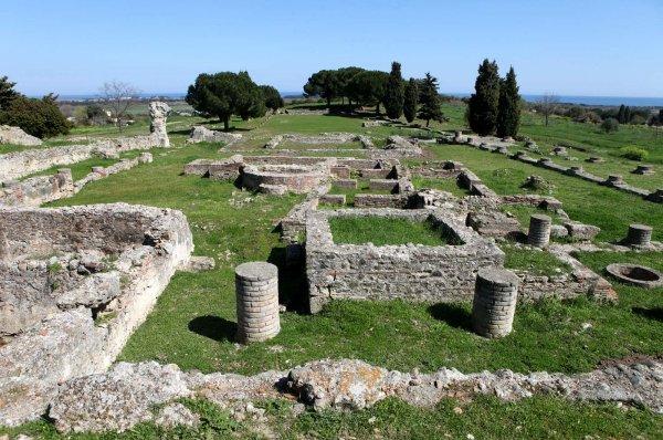 ALERIA ANCIENNE CITE ANTIQUE HAUTE CORSE