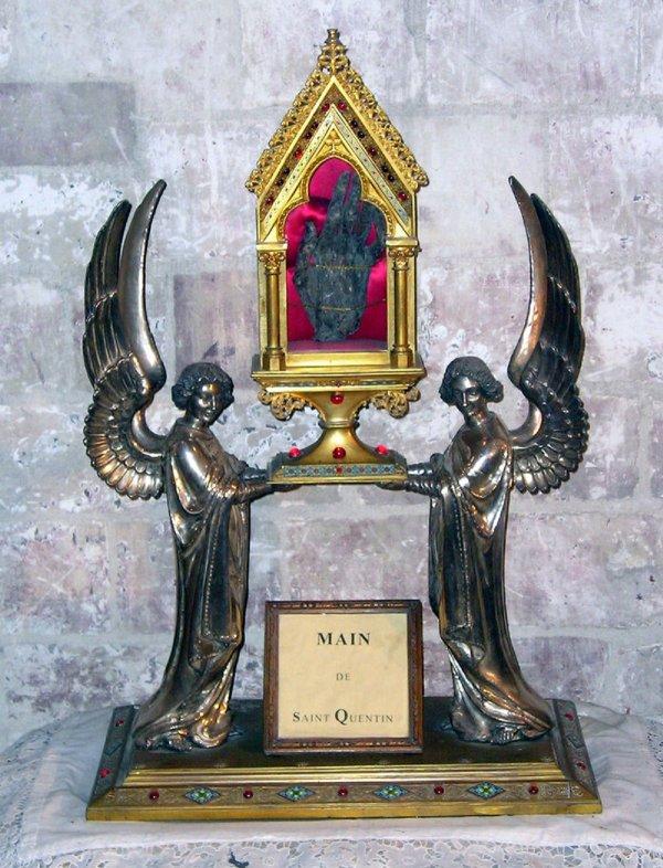 SAINT - QUENTIN AUJOURD'HUI  CE 31 OCTOBRE LE NOM DE MA VILLE