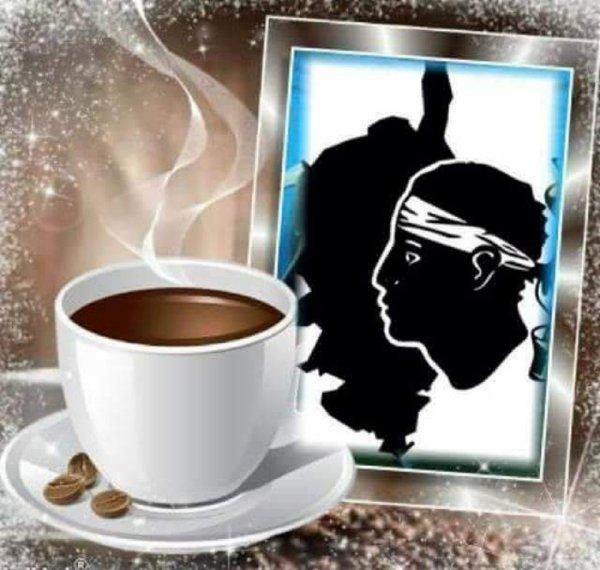 BON VENDREDI  UN PETIT CAFE  DESOLE J'AI PAS DE THE J'EN BOIS PAS C'EST UNE BOISSON DE SALON POUR FEMMES