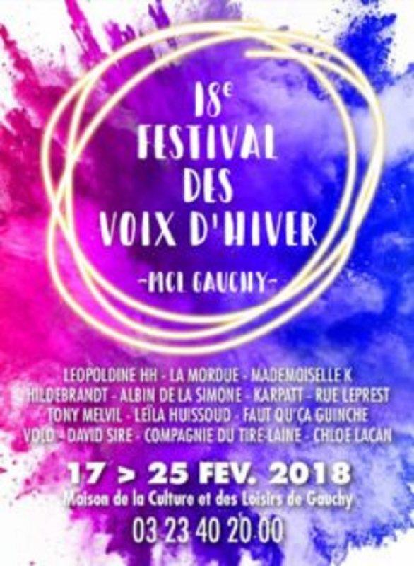 LE FESTIVAL DES VOIX D'HIVER A LA MCL DE GAUCHY
