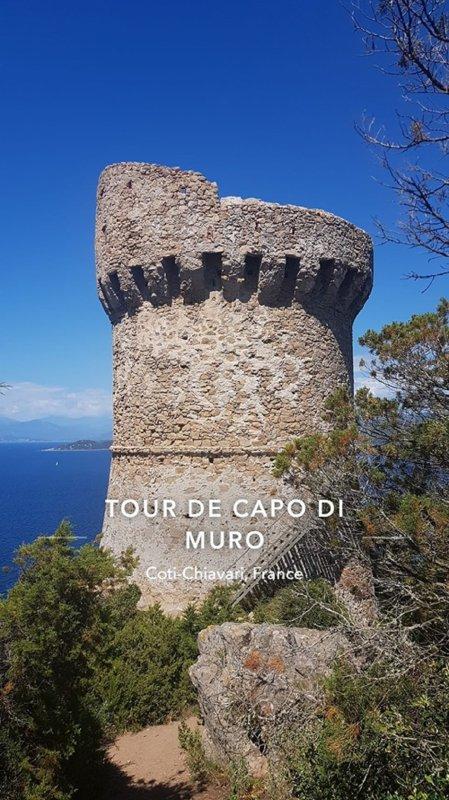 CAPO DI MURO DANS LA RIVE SUD DU GOLFE D'AJACCIO