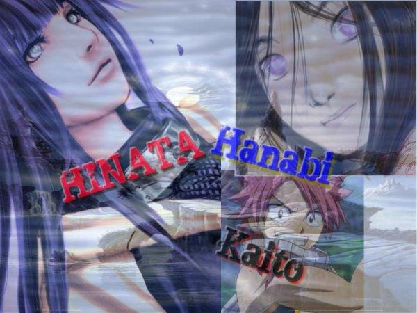 Comme dieu, s'ennuyer il nous créa nous, Hanabi, Kaito et Hinata<3