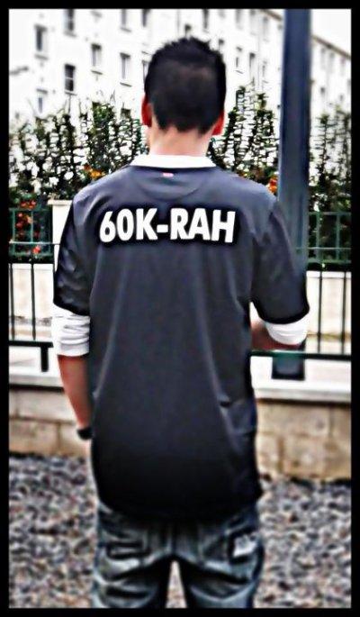 mixtape la relève  / 60k-rah Sous mon Redskins (2011)