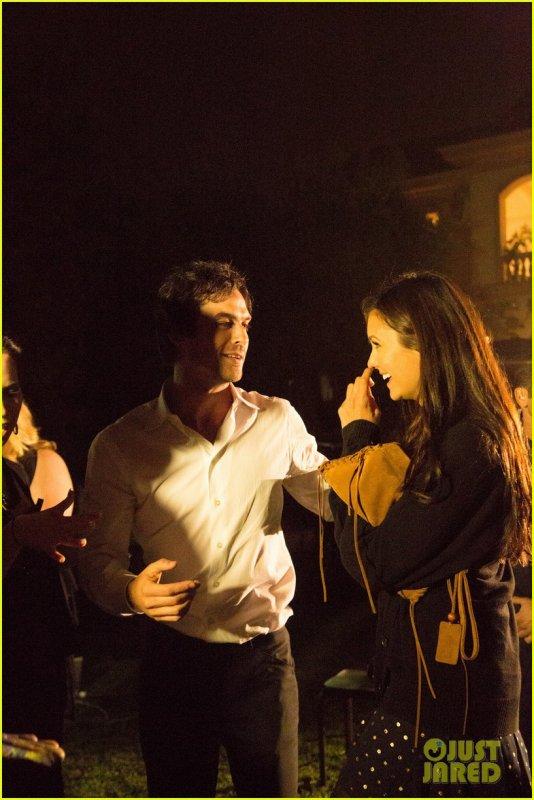 Sortie Nina Dobrev et son boyfriend Ian Somerhalder
