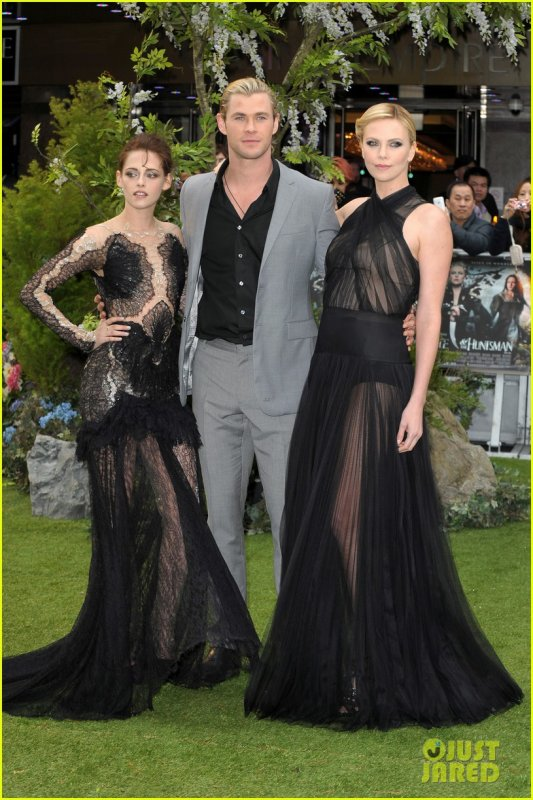 Sortie Kristen Stewart,Charlize Theron et Chris Hemsworth