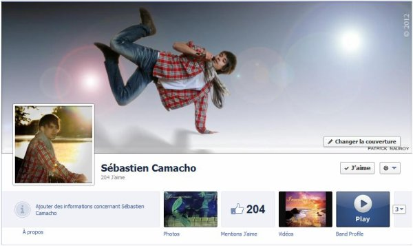 Ma page officielle