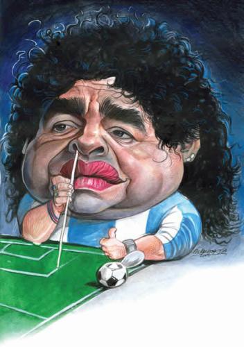 Diego Armando Maradona, La Star de L'argentine