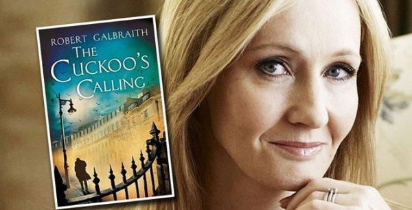 J.K. Rowling publiée sous un nom d'emprunt