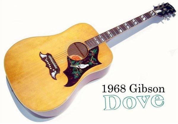 Gibson Dove 1968