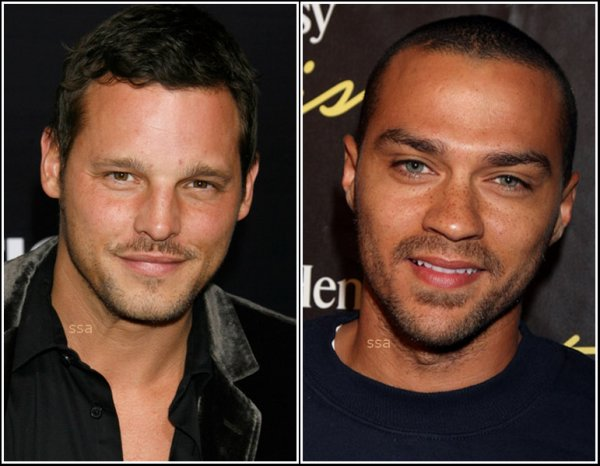 Justin Chambers VS Jesse Williams