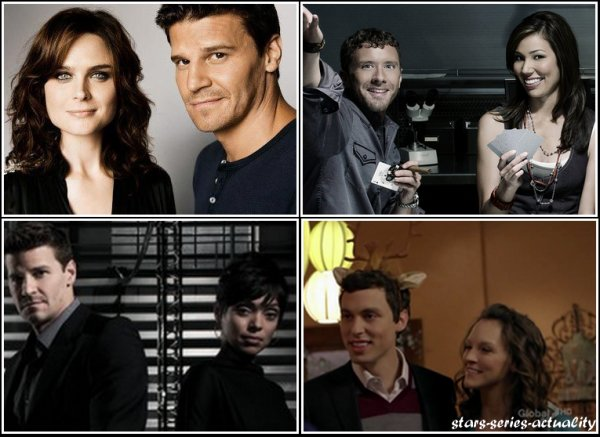 Booth & Bones VS Angela & Hodgins VS Booth & Camille VS Sweets & Daisy