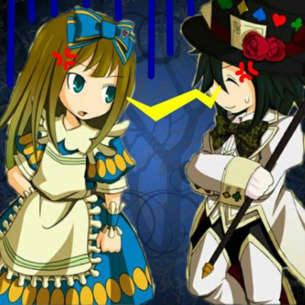 Alice and Luaisy in Wonderland! Chapitre 3!