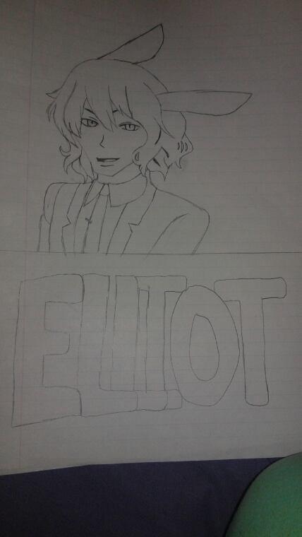 Mes dessin des perso de Alice ai royaume de coeur/trèfle/joker