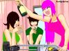 Dessin de Lucas, Yukiko et Luaisy!